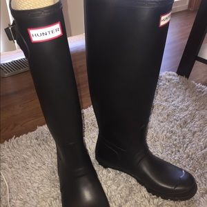 Size 8 Tall Hunter Boots